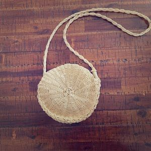 Urban outfitters woven bag